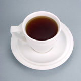 Cup with hot tea Stock Images