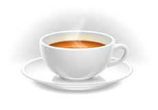 Ceramic cup of hot tea Royalty Free Stock Photography