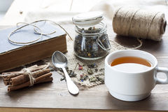 Book of teas and cookies