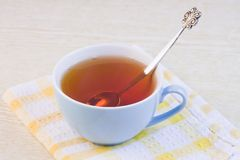 Cup with hot tea Royalty Free Stock Images