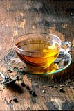 Cup of hot tea Stock Photos