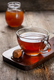 Cup of hot tea ,  honey Royalty Free Stock Photography