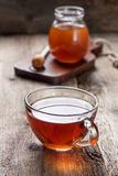 Cup of hot tea ,  honey Royalty Free Stock Photos
