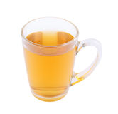 Cup of hot tea isolated Stock Image