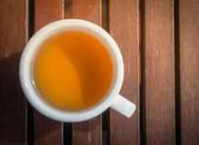 Cup of hot tea. Royalty Free Stock Photo
