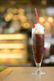 Cup of ice blended coffee Stock Images