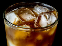 Cup of iced coffee Royalty Free Stock Image