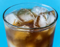 Cup of iced coffee Stock Photo
