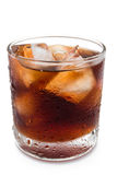 Cup of iced cola Royalty Free Stock Image