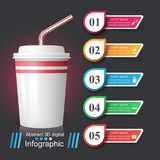 Cup icon. Coffee and tea Infographics. Vector eps 10 Vector Illustration