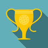 Cup icon, flat style Royalty Free Stock Photo