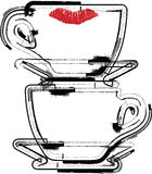Cup illustration Stock Images