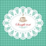 Cup illustration stock photography