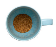 Cup of instant coffee Stock Photo