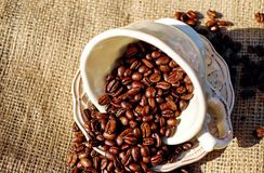 Cup, Instant Coffee, Coffee, Jamaican Blue Mountain Coffee Royalty Free Stock Image