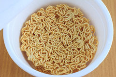 Cup of instant noodle Stock Image