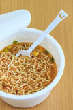 Cup of instant noodle Stock Photos
