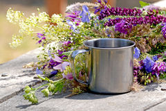 Cup of iron Royalty Free Stock Images