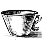 Cup isolated Stock Images