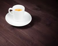 Cup of italian espresso coffee Stock Image