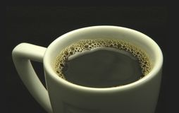 Cup of Java Royalty Free Stock Images