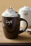 Cup köstlicher Kaffee Stockfoto