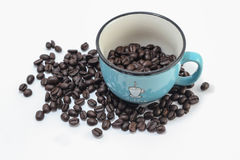 Cup kaffe Arkivfoton