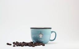 Cup kaffe Arkivbilder