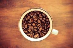 Cup kaffe Royaltyfri Bild