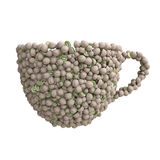 Cup of kiwi Royalty Free Stock Photography