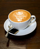 Cup of Latte Royalty Free Stock Photography