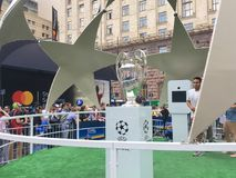 Cup of the League of Europe in Kiev Stock Photo