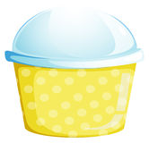 A cup with a lid Stock Image