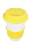 Cup with Lid Royalty Free Stock Photos