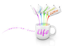 Cup of life Stock Photos