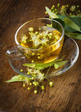 A cup of linden tea Royalty Free Stock Images