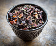 Cup Of Loose Leaf Royalty Free Stock Image