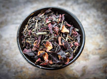 Cup Of Loose Leaf Stock Photos