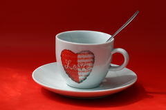 A cup of love Royalty Free Stock Images