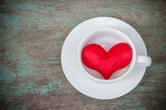 A cup of love Royalty Free Stock Photos