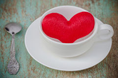 A cup of love Stock Image