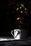 Cup of magic Stock Image