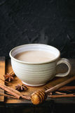 Cup of masala chai Stock Photography