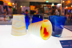 Cup. Melt designs by plastic Stock Images