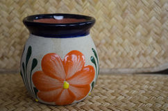 Cup. Mexican handicraft Stock Photography