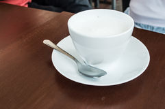 Cup Milch Stockfoto