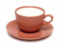 Cup of milk Royalty Free Stock Images