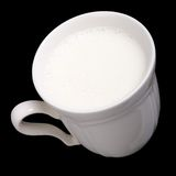 Cup of milk 2 Royalty Free Stock Images