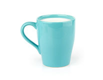 Cup of milk Stock Photos