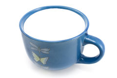 A cup of milk Royalty Free Stock Images